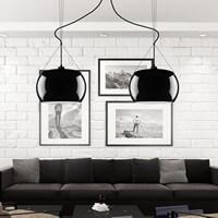 Designer modern ceiling lamp Sotto Luce Elementary Momo 2/S