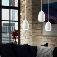Sotto Luce Ume pendant lamp in white