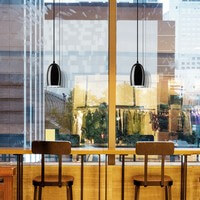 Modern pendant lamp Sotto Luce Ume