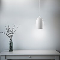 Designer ceiling lamp Sotto Luce Elementary Ume opal